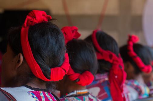 Detalle de los peinados para celebraciones y ocasiones importantes