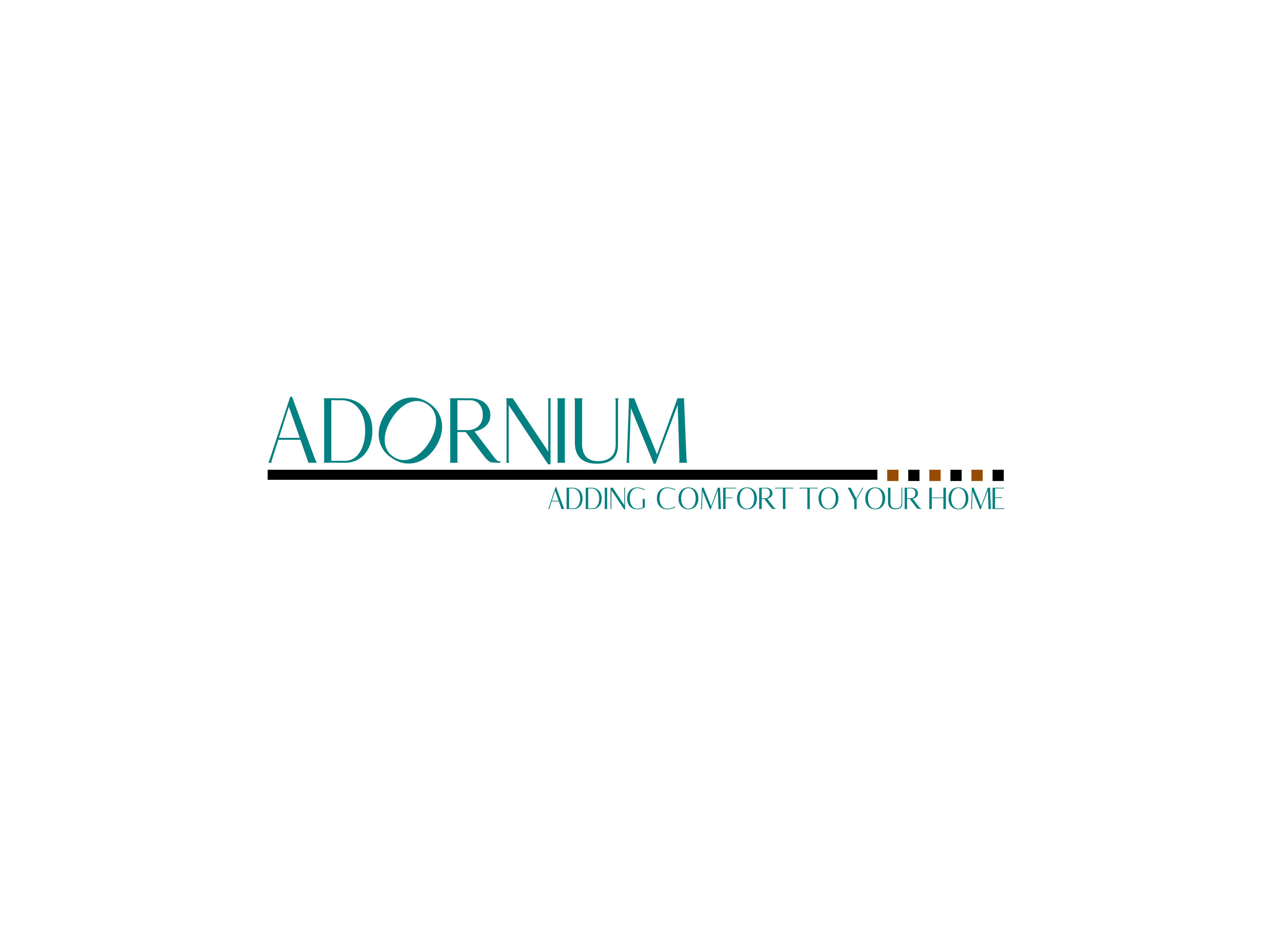 One of the many logo variations done for ADORNIUM