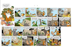 Yogi Bear 2 Page Comic - Coloring Sample