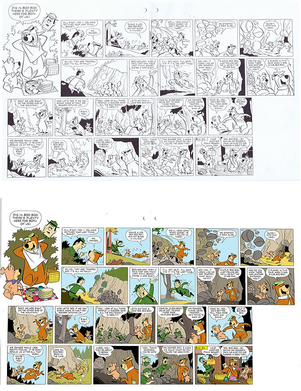 Yogi Comic Strip