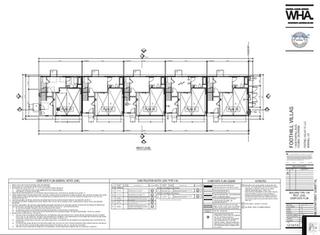 Foothill Villas Renderings & Plans