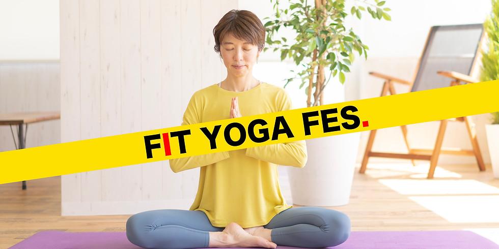 【FIT YOGA FES. / 参加無料】5月9日(日)11:00~ GW疲れ解消!心身リセットヨガ (平光七奈 先生)