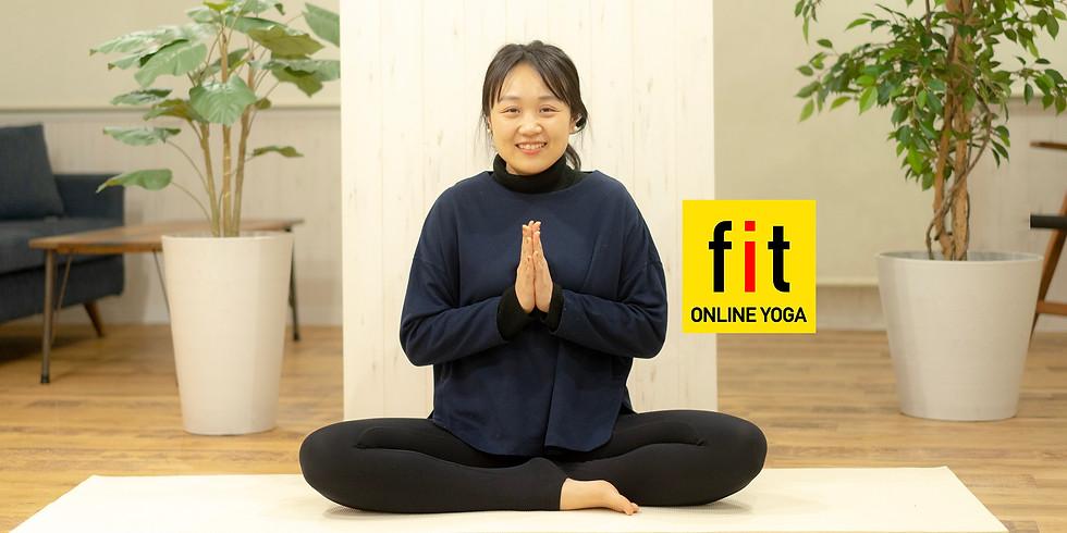 1月25日(月)16:00~ 心身を癒す瞑想ヨガ (杉浦真里 先生)