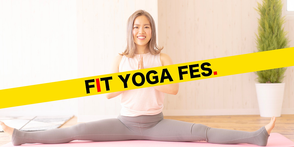 【FIT YOGA FES. / 参加無料】5月9日(日)9:00~ 首・肩凝り解消ヨガ (木下可奈子 先生)