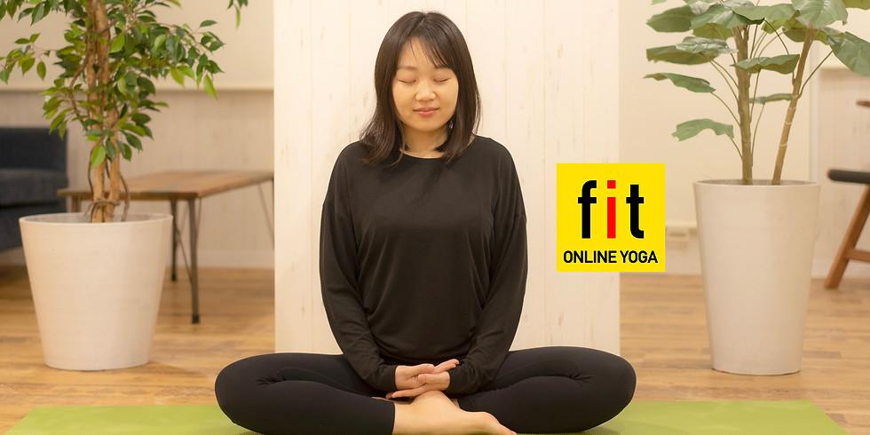 【アーカイブ版】2月22日(月)16:00~ 呼吸で動くやさしいヨガと瞑想 (杉浦真里 先生)