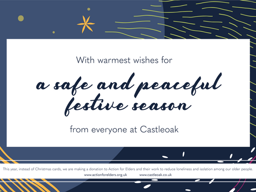 Merry Christmas from everyone at Castleoak