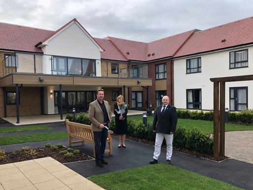 Bishop's Cleeve end-to-end care development handed over ahead of contract