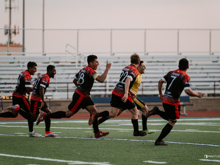 Two Stoppage Time Goals Boost Thunder to Draw Against Joy Athletic