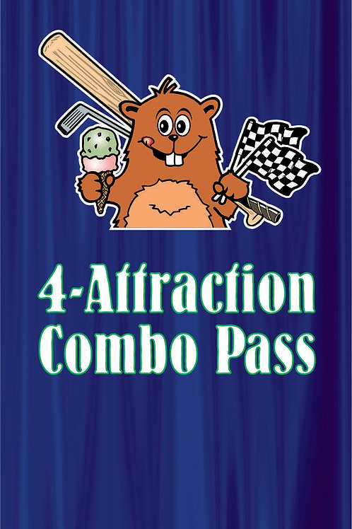 4-Attraction Combo Pass--Chichester location only