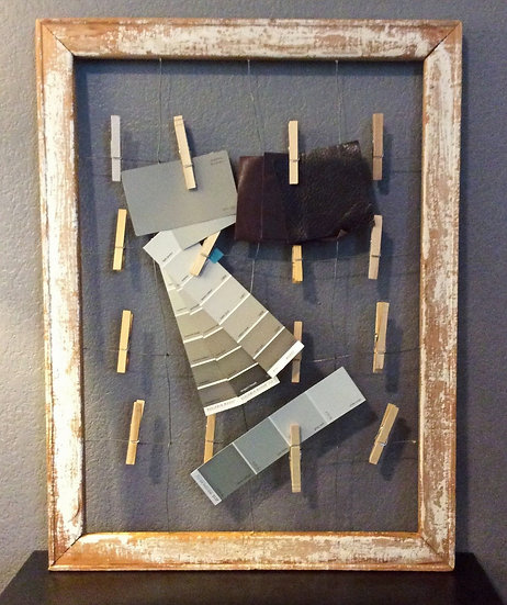 Wire Note and Greeting Card Display