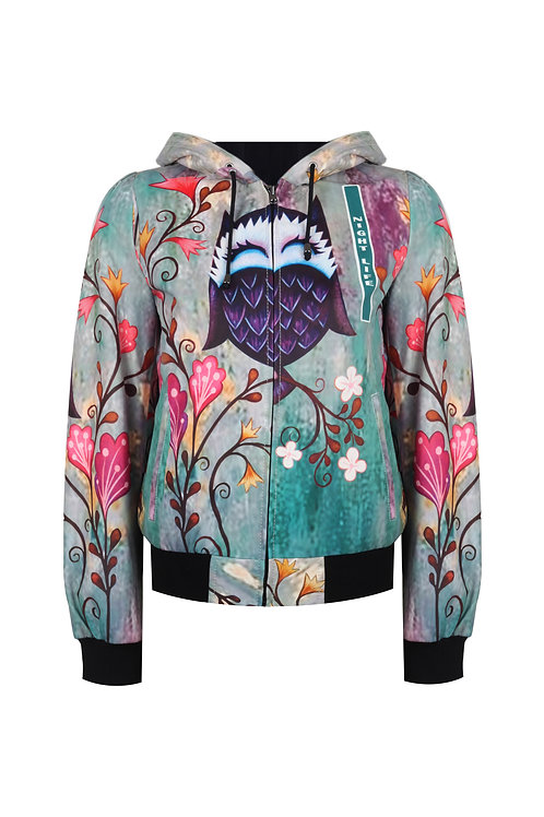 Women Collection Double-Sided Bomber Jacket