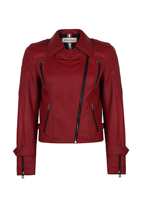 Women Collection Leather Biker Jacket 4274