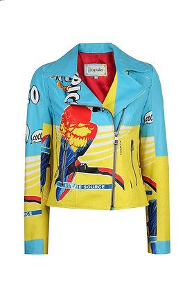 Women Collection Leather Biker Jacket
