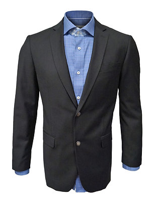 Giorgio Fiorelli Black Two Button Blazer, Single Breasted