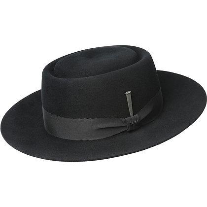 """Men's Bailey Hat """"Walsh"""" Stiff Brim Pork Pie"""