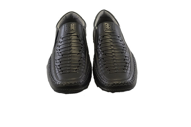 GBX (Strike) Black lightweight Summer shoe