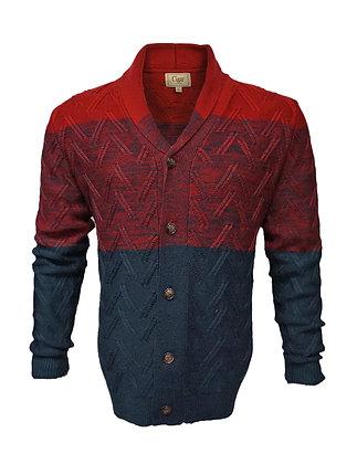 "Cigar  (SWJ-78 ""Wine"") Cardigan Sweater"