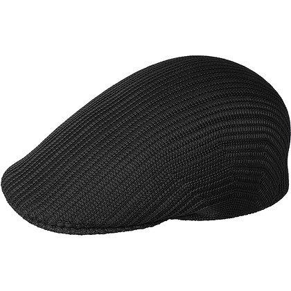 Black Kangol Trop Rib 507 Ivy Cap