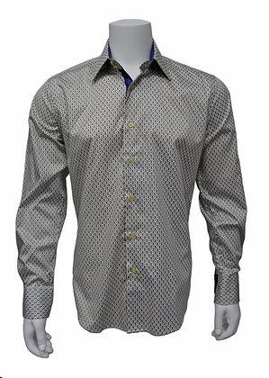 Inserch (White )Button Up Sports Shirt