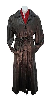 Lady's Mark Andre Full Length Leather Coat