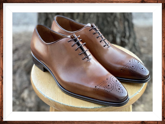 "Men's Italian Calfskin Leather Oxford shoe by Jose Real ""A807"""