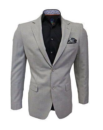 Gray Silk Blend Blazer by Dolce Vita Leather and Fashions