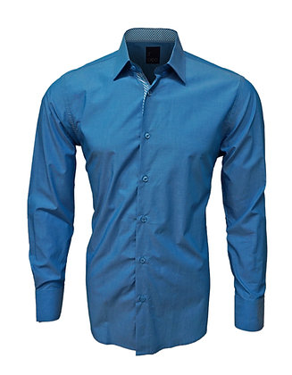J. Cado button down casual shirt Turquoise
