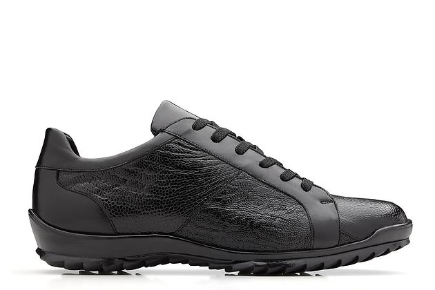Belveder exotic skin sneakers (Arena - Black)