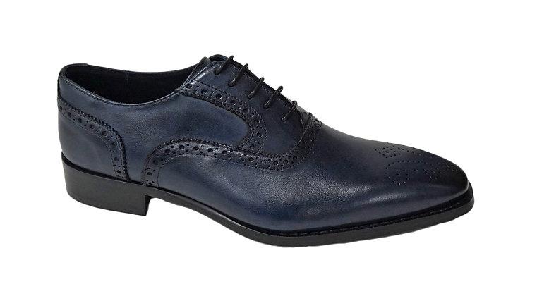 Duca Blue Italian Shoe