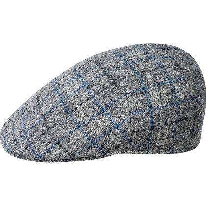Kangol Tweed Milano Gray Flanel Grid Ivy Cap