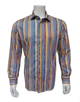 """Brandolini Button Down Shirt """"Multi"""""""