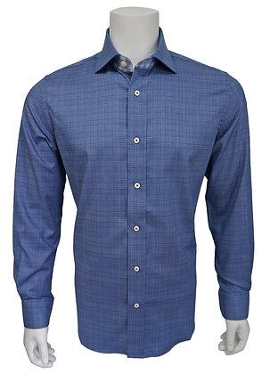 """Robert Graham """"Blue"""" Men's Shirt"""
