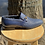 Thumbnail: Navy Blue Woven Leather and Suede Bit loafer for men By Corrente