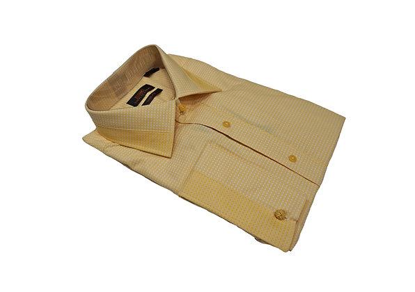 Steven Land (Gold) French Cuff Dress shirt