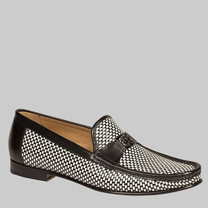 "Mezlan ""Hallman"" Woven Two Tone Loafer"