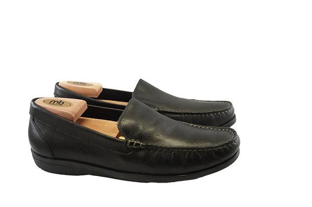 "Giorgio Brutini Black Comfort Loafer ""Tahoe"""