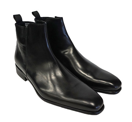 Calzoleria Toscana Black side zip boot