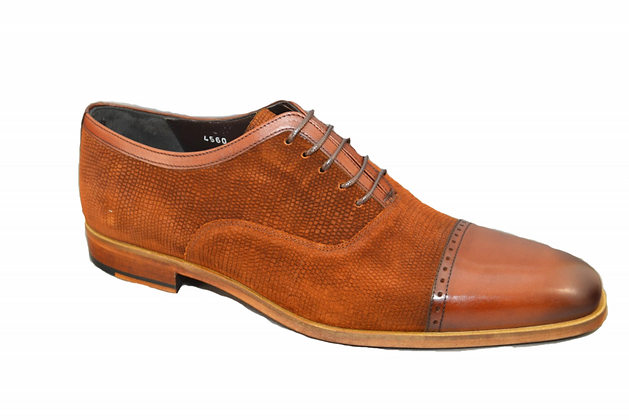Corrente (Rust) Cap Toe, Lace Up Men's Shoe