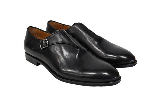 Jose Real (Black) Side Buckle Italian Shoe