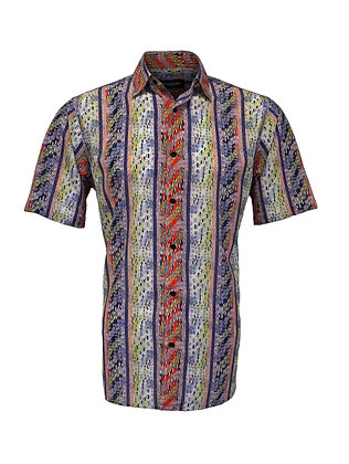 Bassiri ( Navy Blue) Short sleeve shirt