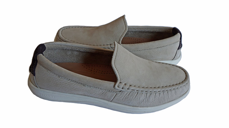 "Cole Hann Boothbay Slip On Loafer ""Barley Nubuck"""