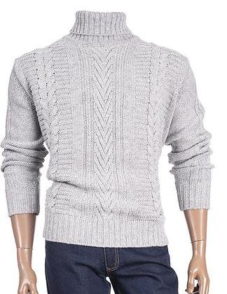 Inserch Wool Blend TurtleNeck Sweater