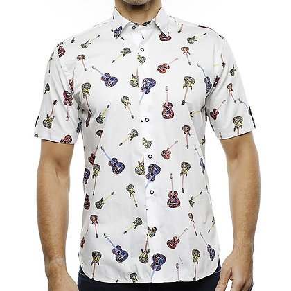 Luchiano Visconti Short Sleeve Guitar Shirt