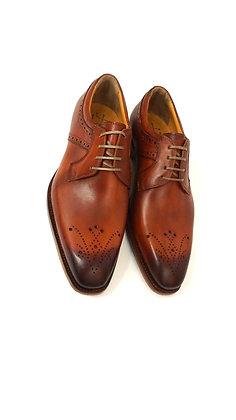 Men's Cognac Italian Dress Shoe by Jose Real