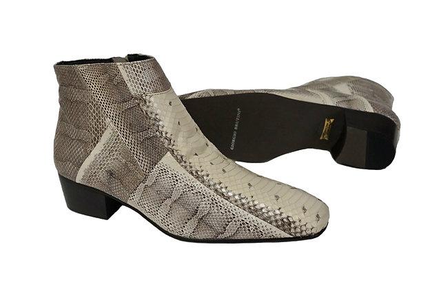 Giorgio Brutini (Tuscon) Natural Ankle Boot, Snakeskin