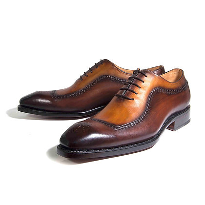 Ugo Vasares (Barns - Camel & Brown) Goodyear Welt Shoes