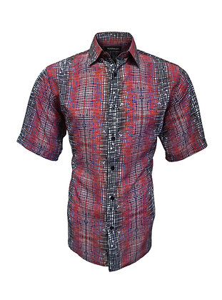 Casual short sleeve summer shirts for men by Bassiri (63141)