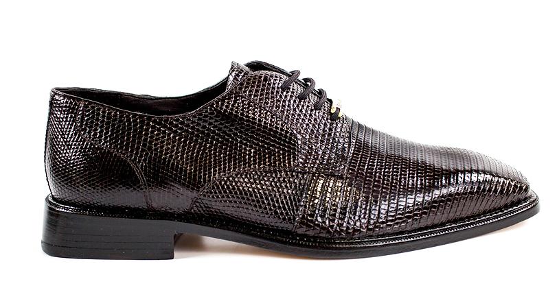 """Belvedere (Olivo) """"Brown"""" Lizard Shoes"""