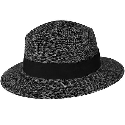 "Bailey ""Mullan"" Summer black wide brim fedora hat"