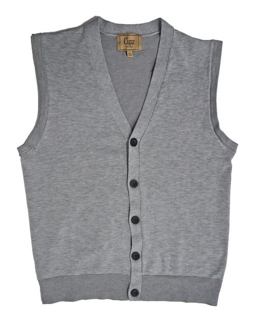 Cigar Couture Mens Button Front Sweater Vest Mens Online Shop